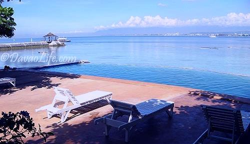 Infinity Pool In Blue Waters Resort Island Garden City Of Samal Davao Life