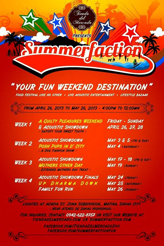 Tienda del Mercado Summerfaction 2013 poster