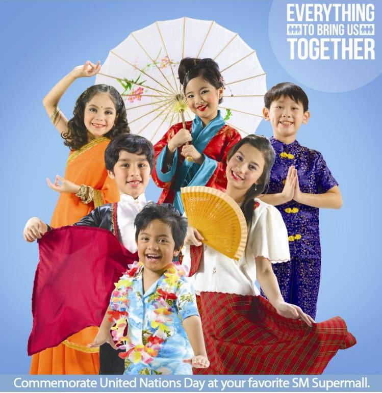 Everything To Bring Us Together Is At SM Davao United Nations Day on October 24