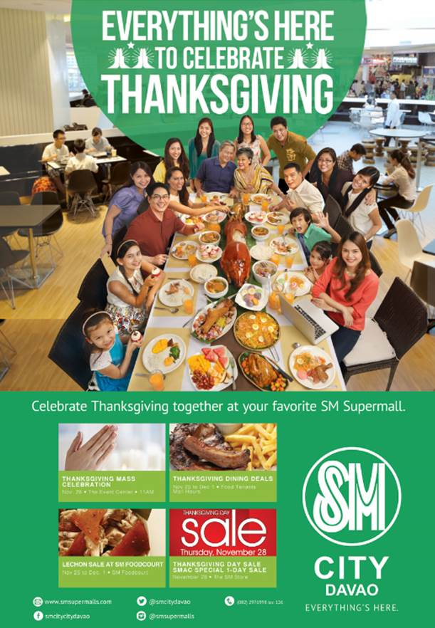 SM City Davao Thanksgiving sale 2013