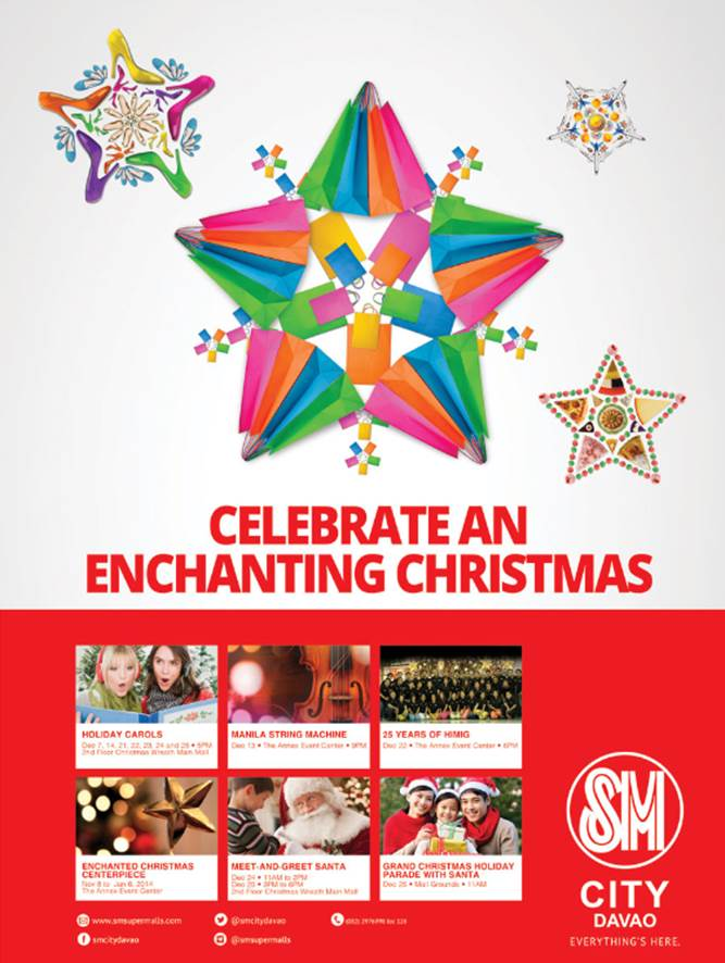Celebrate an Enchanting Christmas at SM City Davao!