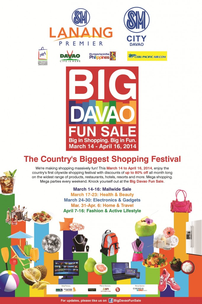 Big Davao Fun Sale SM photo