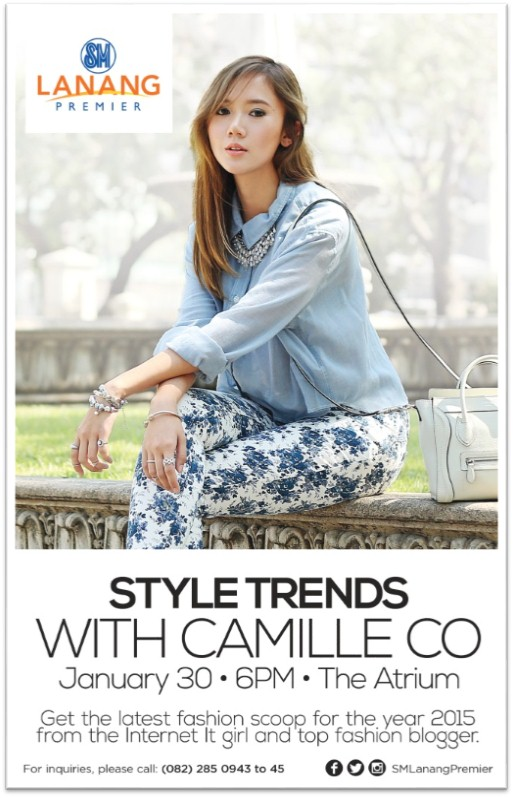 Style Trends Camille Co at SM Lanang Premier poster