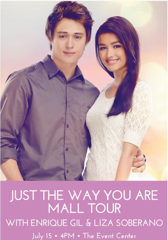 Just The Way You Are Enrique gil & Liza Soberano SM City Davao