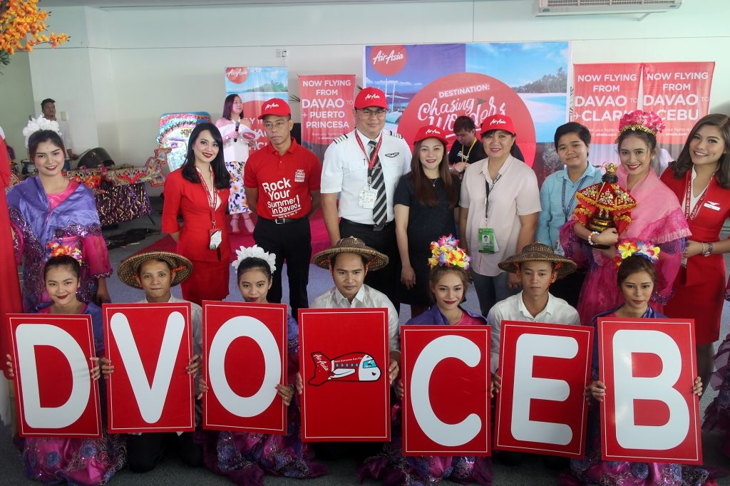 AirAsia Davao to Cebu Send-off Ceremony