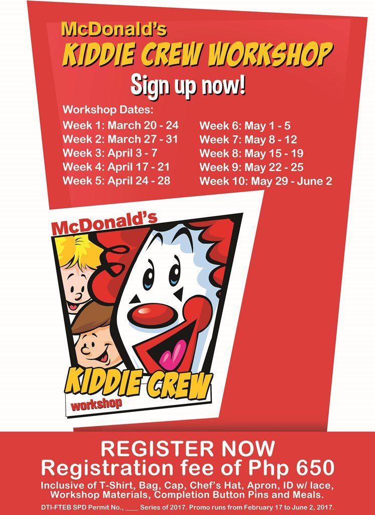 Kiddie Crew Poster