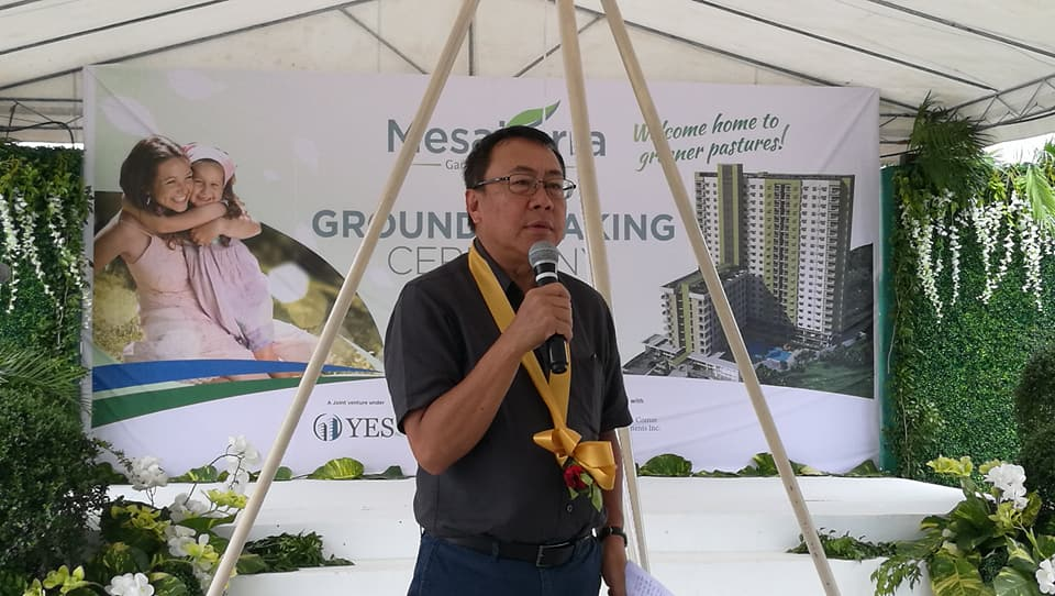 Cebu Landmasters Joint Venture Yuson Excellence Soberano Inc. GroundBreaking of MesaTierra Garden Residences 1 Jose Soberano