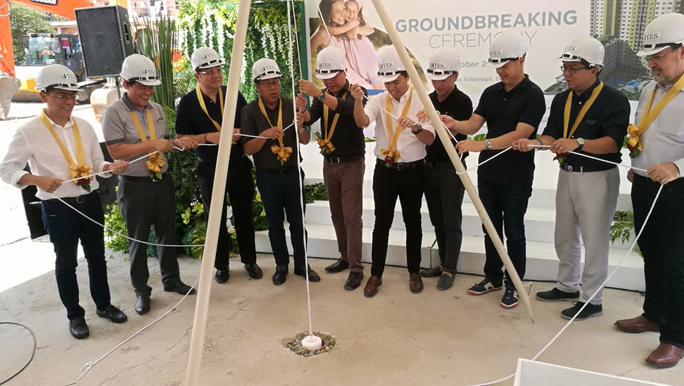Cebu Landmasters Joint Venture Yuson Excellence Soberano Inc. GroundBreaking of MesaTierra Garden Residences 4