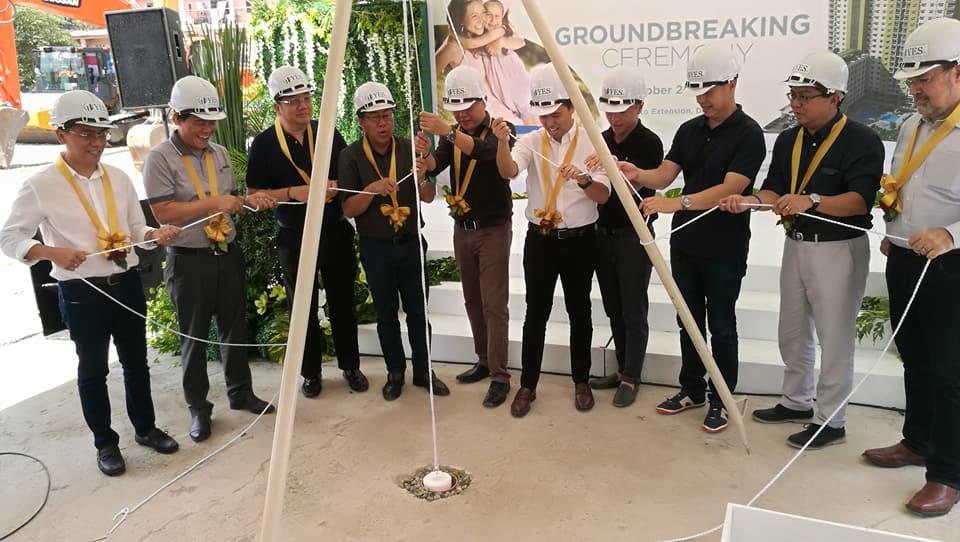 Cebu Landmasters Joint Venture Yuson Excellence Soberano Inc. GroundBreaking of MesaTierra Garden Residences 4