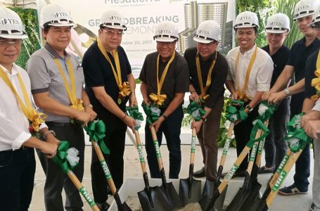 Cebu Landmasters' Joint Venture Yuson Excellence Soberano Inc. Groundbreaking of MesaTierra Garden Residences