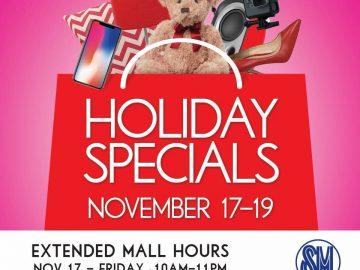 SM City Davao Holiday Specials