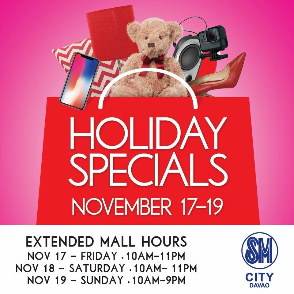 SM City Davao Holiday Specials