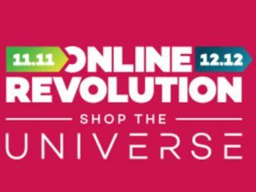 Lazada online revolution philippines 2017 11-11 & 12-12 shop the universe