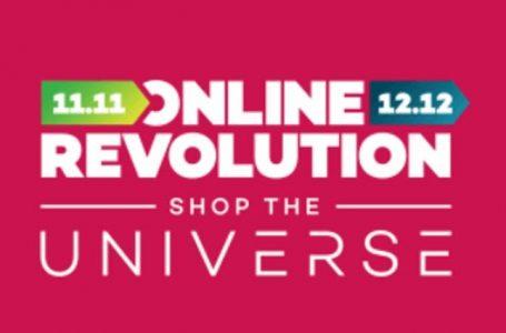 Lazada Online Revolution | Shop The Universe on Nov. 9-11 & Dec. 7-12
