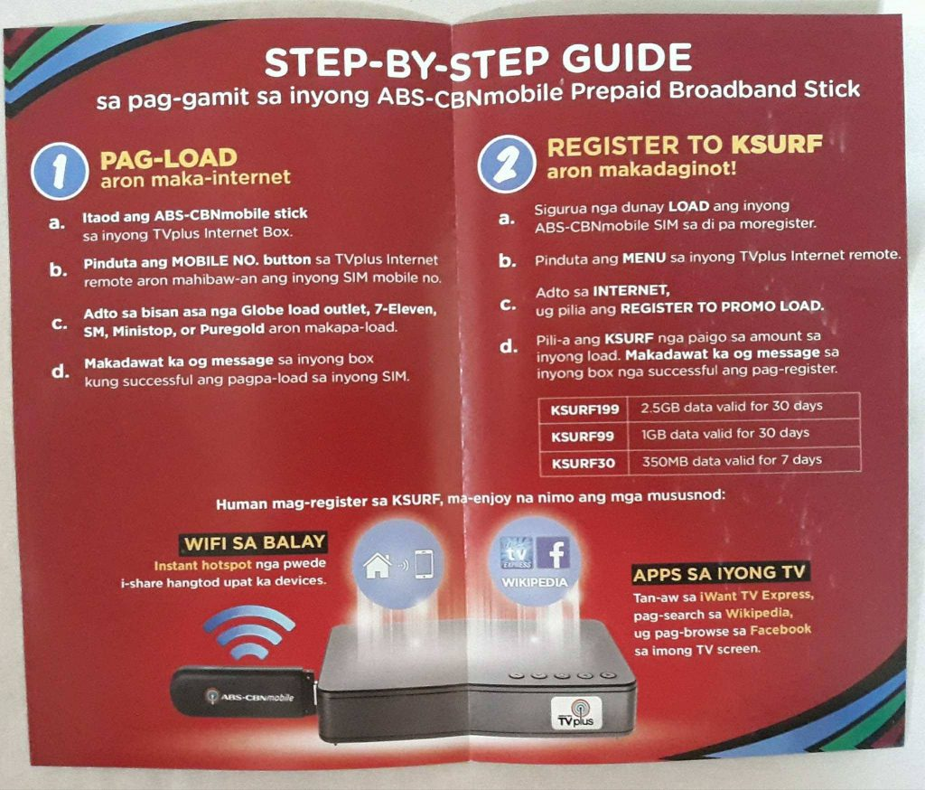 ABS CBN TV Plus Internet Step by Step Guide