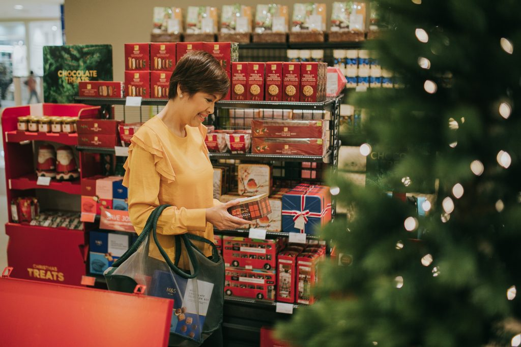 6 The chef's preferred Holiday food gift place- the M&S store