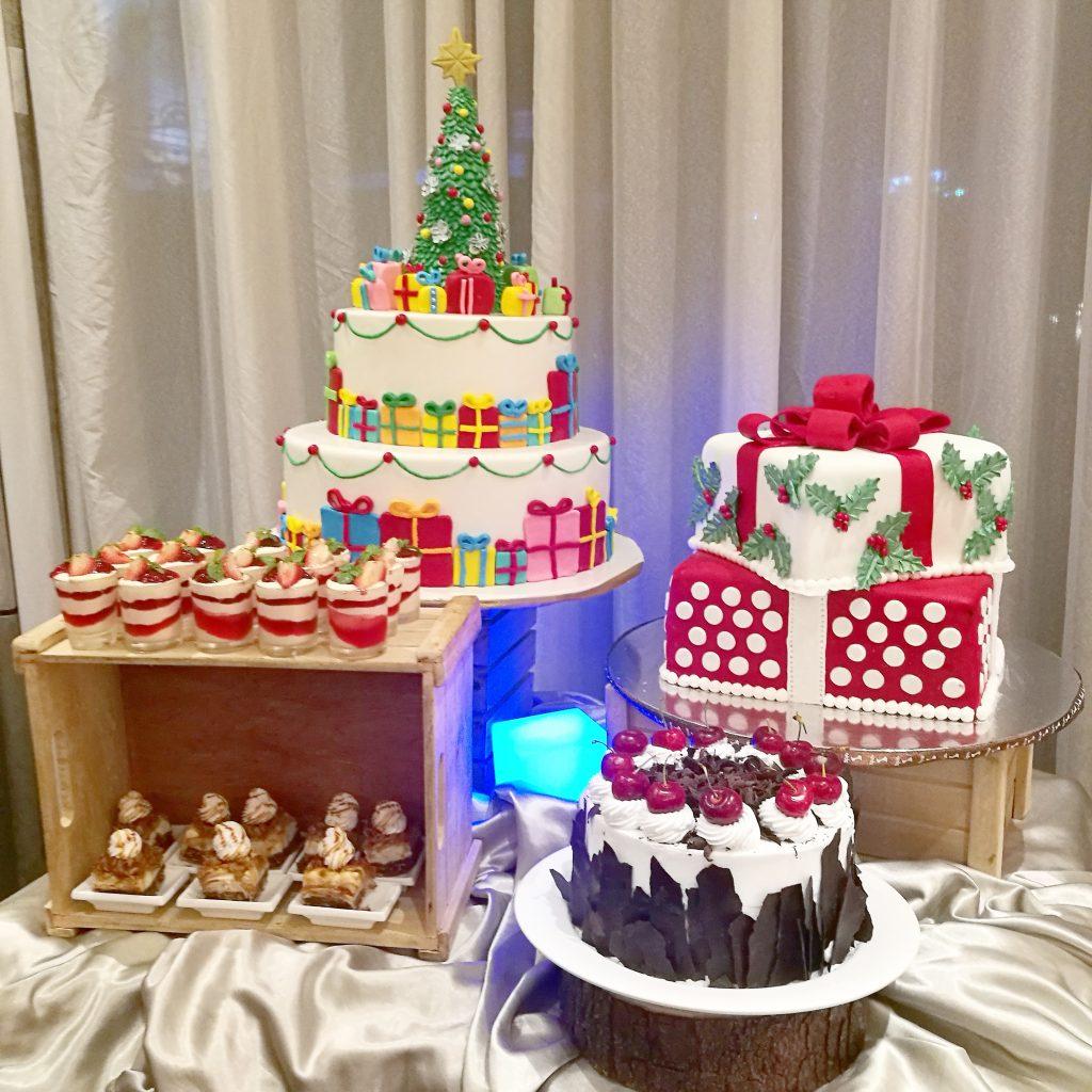 Dessert spread in Seda Abreeza's Media Party
