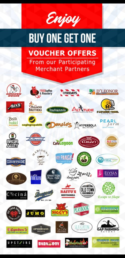 iSaver Davao partner merchants
