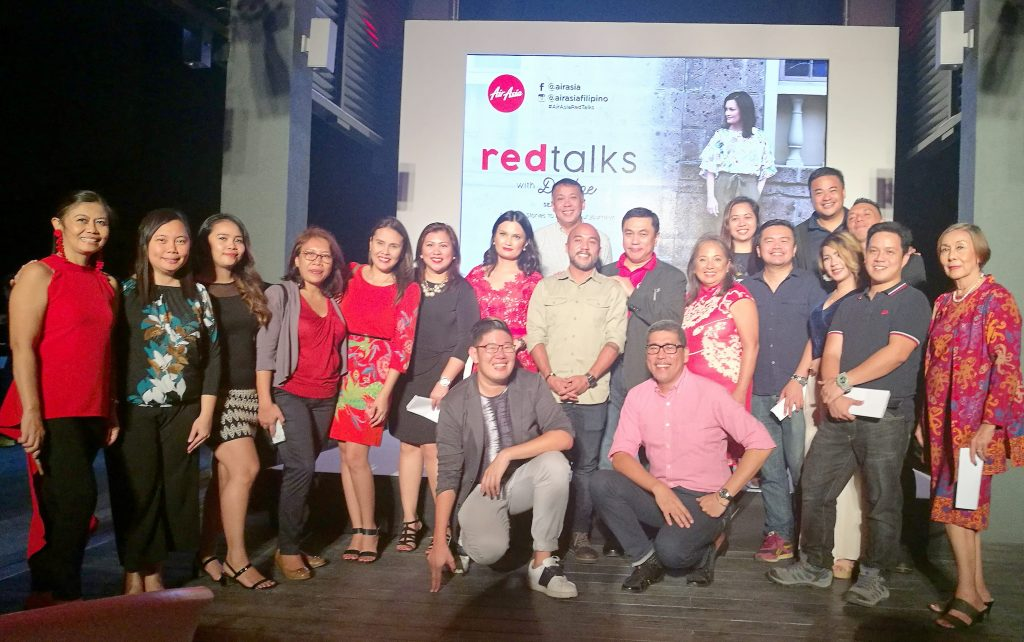 AirAsia Red Talks in Bai Hotel Mandaue Cebu with Chef Jayps, Ms. Daphne Osena Paez, Captain Dexter Commendador, Ms. Maan Hontiveros, DDI and Davao media