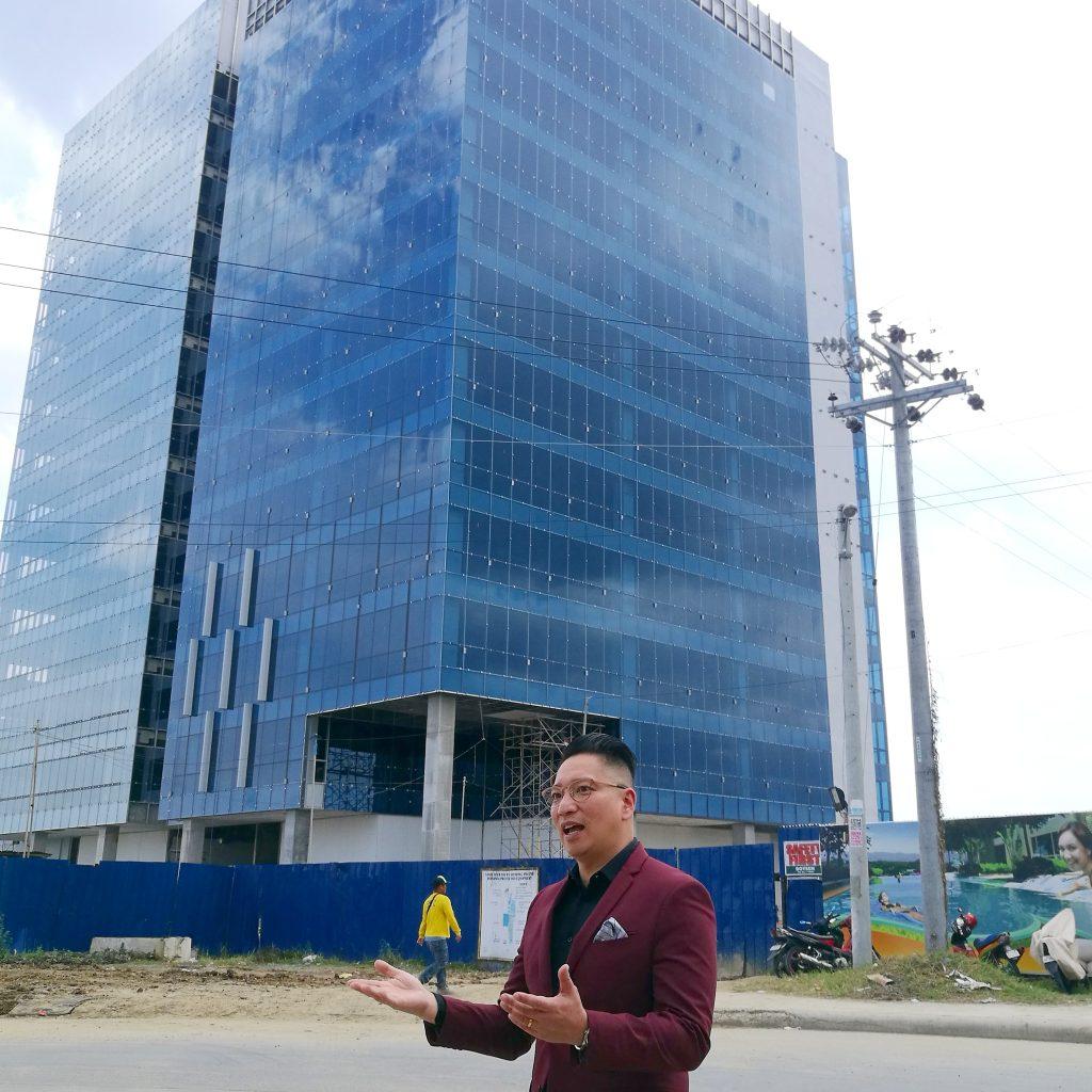 Senior Vice President Jericho P. Go - MEGAWORLD Develops Davao Park District To Smart Township - Iconic Davao clock tower