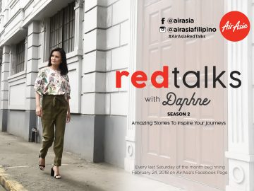 AirAsia Red Talks series with Daphne Osena Paez on Facebook