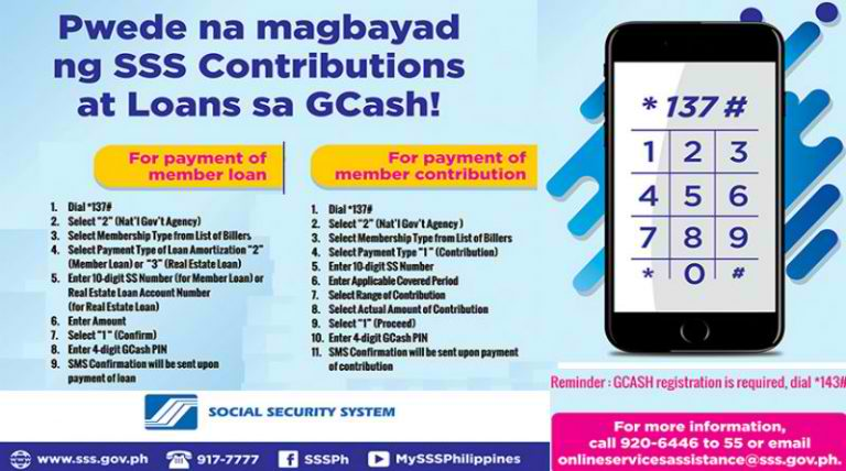 Globe GCash Now Accepting SSS Contributions From Employers Using PRN