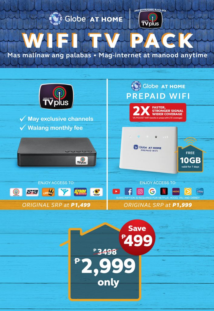 Globe WiFi TV Pack