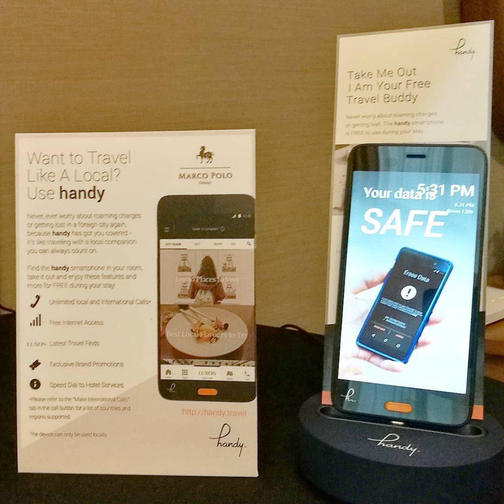 handy Smartphone Marco Polo Davao Hotel