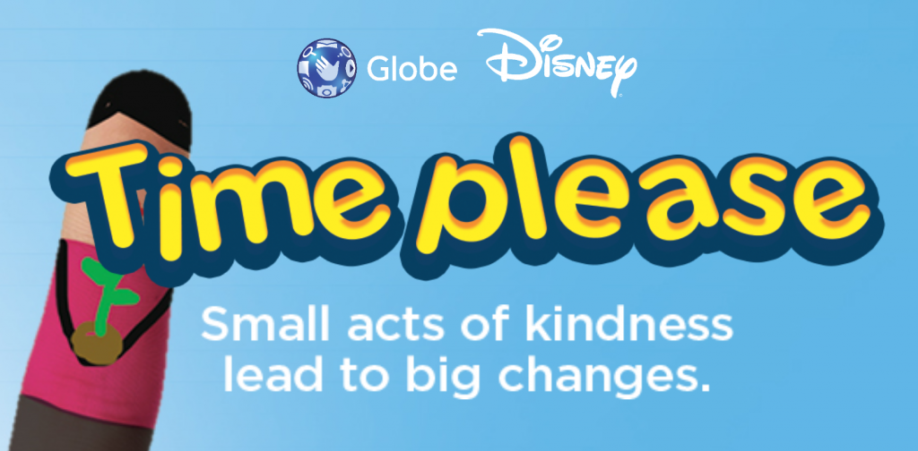 Globe Telecom & Walt Disney Philippines' Time Please Nationwide Volunteering Program