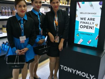 Tony Moly opens in SM City Davao