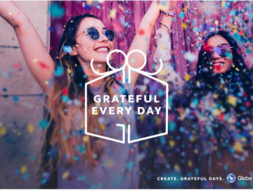 Grateful Everyday. Globe Rewards. Happy 917 Day image from Globe Telecom