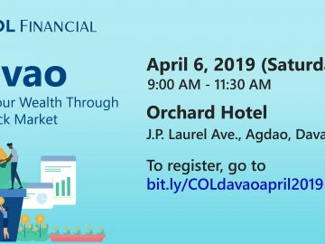 Basic Investing Seminar Davao COL Financial Group Inc