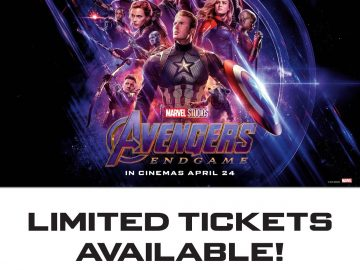AVENGERS END GAME SM CITY DAVAO POSTER IMG_8011