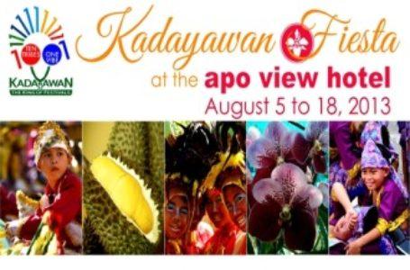 Kadayawan Fiesta 2013 at Apo View Hotel Davao