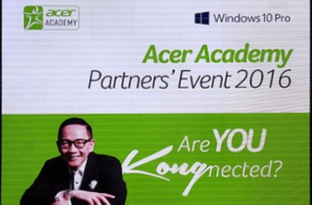 "Acer Academy Partners' Event 2016 as Davao Ready To Get ""Kong-nected"""