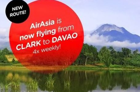 AirAsia Reconnects Clark to Davao Flights