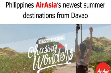 Air Asia Expands Network With New Flights to Clark, Cebu, Palawan and Boracay via Caticlan this Summer 2017