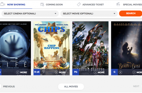 Globe and Ayala Malls Cinemas Relaunch Enhanced SureSeats Website