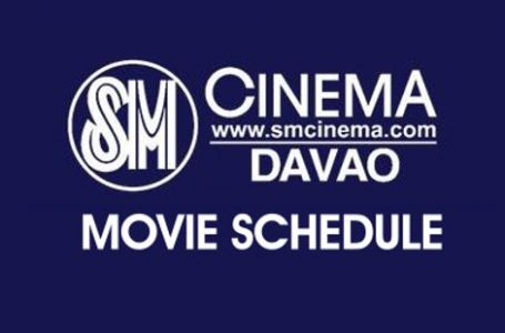 SM City Davao Cinema Movie Schedule