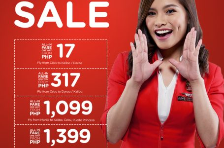 AirAsia's Red Hot Seat Sale is Back, Fly From As Low As P17!