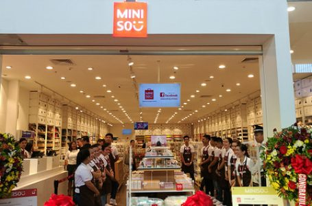 MINISO Japanese Designer Brand in SM City Davao