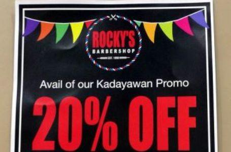 Kadayawan Treat from Rocky's BarberShop