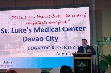 St. Luke's Medical Center To Open in Davao in Azuela Cove in 2020