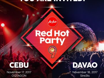 AirAsia Red Hot Party in Davao
