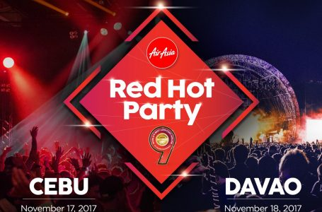 AirAsia Rocks Davao With Their Hottest Party Of The Year