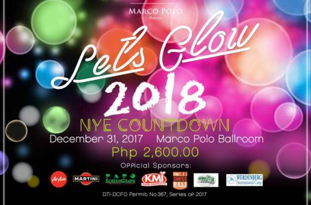 Marco Polo Davao's Let's Glow 2018 New Year Countdown