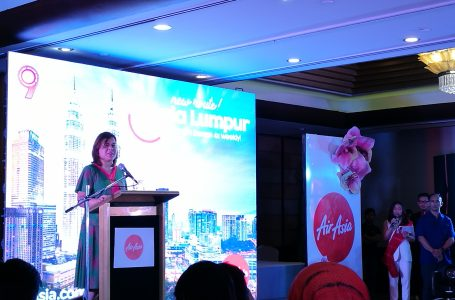 Mayor Inday Sara Duterte Officiate the New AirAsia Davao to Kuala Lumpur Direct Flight Route