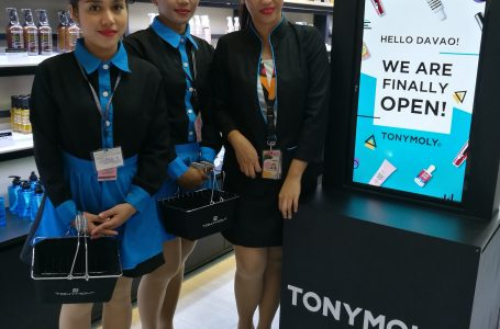 TonyMoly Philippines Opens in SM City Davao