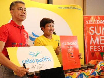 Cebu Pacific Celebrates Its 10th Anniversary of Davao Being Its Mindanao Hub DavaoLife.com