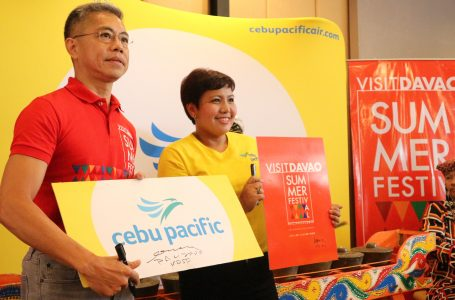 Cebu Pacific Celebrates Its 10th Anniversary of Davao Being Its Mindanao Hub